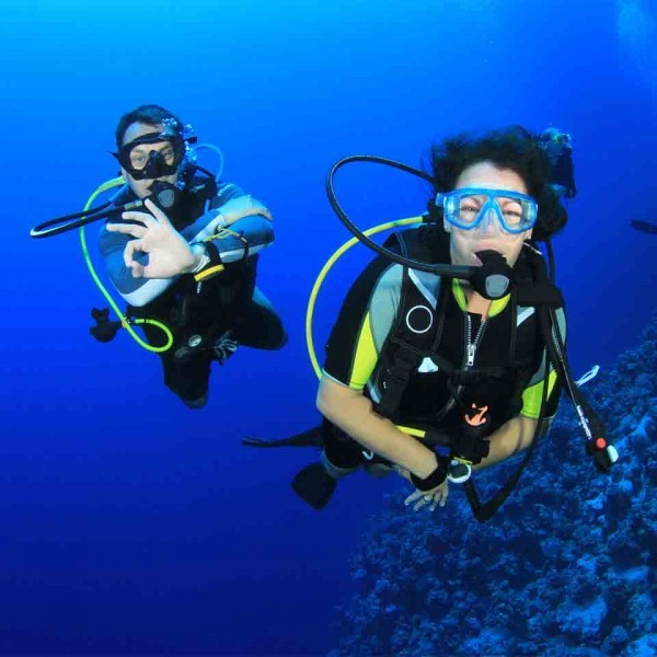 Curso de buceo Open Water
