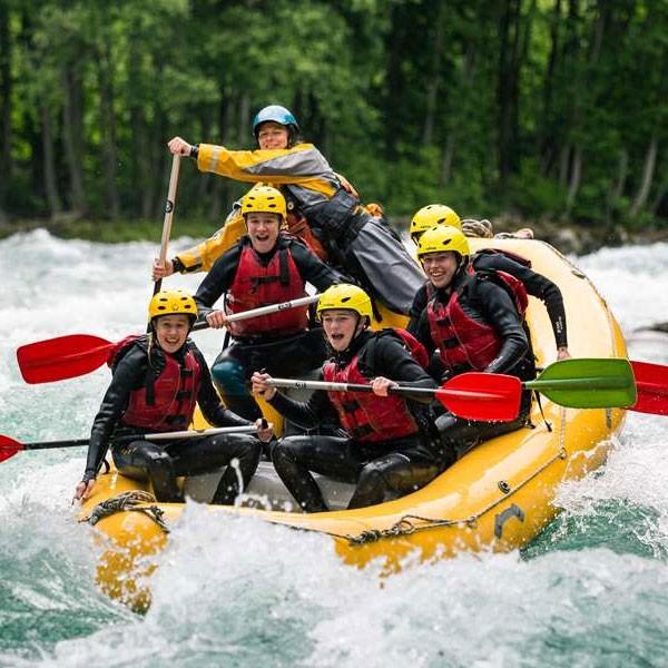 Descenso del río Segura en Rafting con almuerzo y fotos